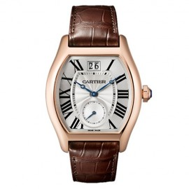 Copie Cartier Tortue Grande Date Petite seconde W1556234