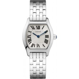 Copie Cartier Tortue Petit or blanc W1556365