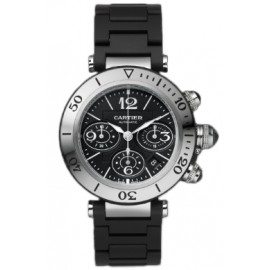 Replique Montre Cartier Pasha Seatimer Chronographe Automatique W31088U2