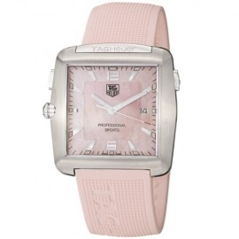 Replique TAG Heuer Tiger Woods Professional Rubber Sports de femmes WAE1114.FT6011