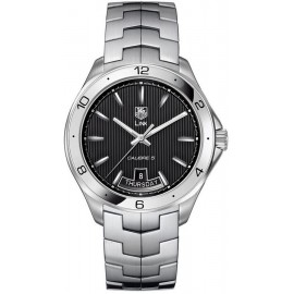 Replique TAG Heuer Link Calibre 5 Day-Date Automatique 42 mm WAT2010.BA0951