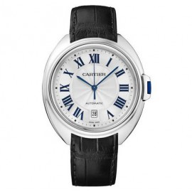 Cartier Cle De Cartier Automatique en or blanc 40mm WGCL0005 Replique