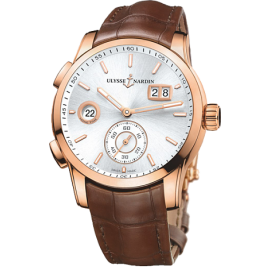 Ulysse Nardin Dual Time Manufacture 42 mm 3346-126/91 Montre Replique