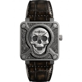 Replique Bell & Ross BR 01-92 Automatique Burning Skull Montre