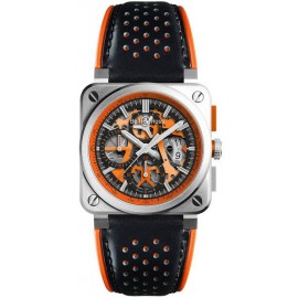 Replique Montre Bell & Ross Aviation Hommes BR 03-94 Aero GT Orange