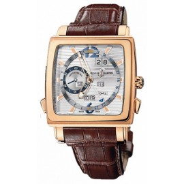 Ulysse Nardin Quadrato Dual Time Perpetual 326-90/91 Montre Replique