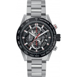 Replique TAG Heuer Carrera Calibre Heuer 01 Chronographe Automatique 43 mm CAR201V.BA0766