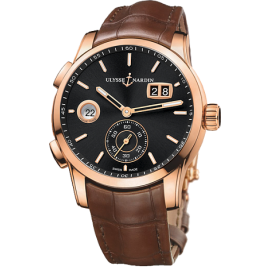 Ulysse Nardin Dual Time Manufacture 42 mm 3346-126/92 Montre Replique