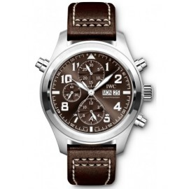 Replique Montre IWC Pilot's Double edition chronographe IW371808