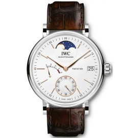 Replique Montre IWC Portofino Hand Wound 8 Jours Moon Phase IW516401