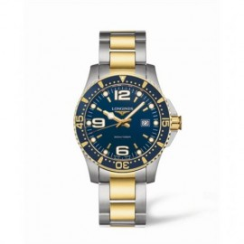 Copie Longines Hydroconquest Quartz 39 Two Tone Bleu L3.640.3.96.7