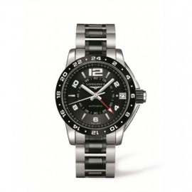 Copie Longines Admiral GMT Ceramique L3.669.4.56.7