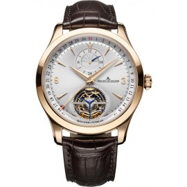 Replique Montre Jaeger-LeCoultre Master Tourbillon Dualtime Q1562521
