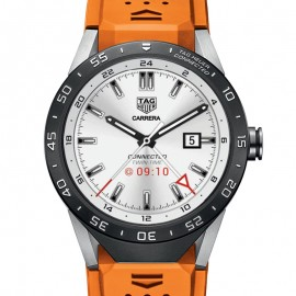 Replique Tag Heuer Connected orange Strap SAR8A80.FT6061