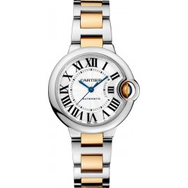 Replique Montre Cartier Ballon Bleu de Cartier 33 mm Dames W2BB0002