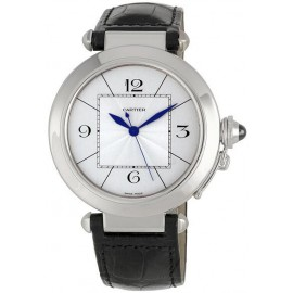 Replique Montre Cartier Pasha Or Blanc Automatique 42mm W3018751