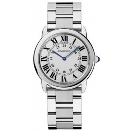 Replique Montre Cartier Ronde Solo Quartz 29mm Dames W6701004