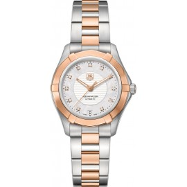 Replique Montre TAG Heuer Aquaracer Automatique 34mm Mesdames WAP2351.BD0838