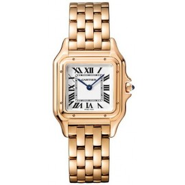 Replique Montre Cartier Panthere de Cartier Moyen Or Rose WGPN0007