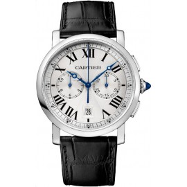Replique Montre Cartier Rotonde de Cartier Chronographe 40 mm WSRO0002