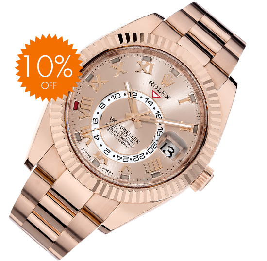 Replique Montre Rolex Sky-Dweller 10% off